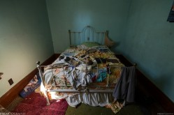 Bedroom in Abandoned House