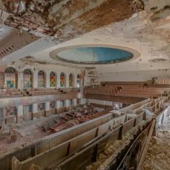 Detroit Church Abandoned, abandoned, abandoned photography, abandoned places, creepy, decay, derelict, Freaktography, haunted, haunted places, photography, urban exploration, urban exploration photography, urban explorer, urban exploring
