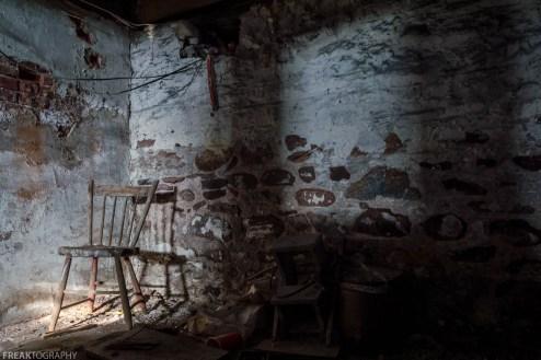 Basement of Abandoned House