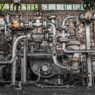 Industrial Pipes HDR