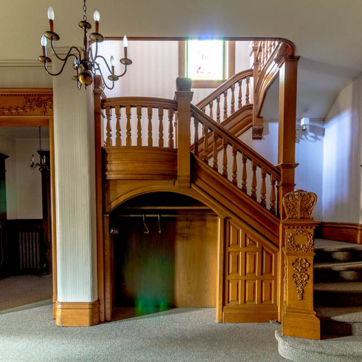 funeral home main staircase