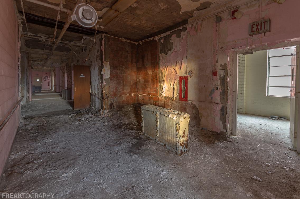 abandoned nursing home urban exploring freaktography
