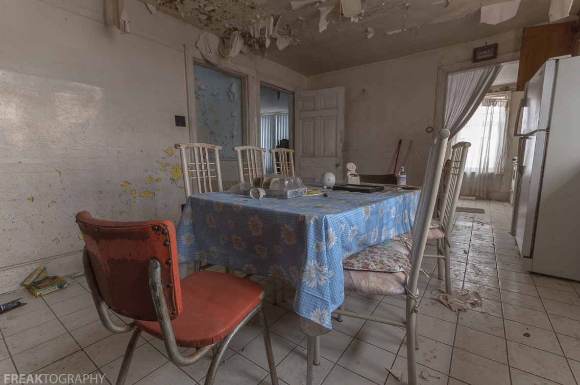 Badly Damaged And Decaying Kitchen In An Abandoned House Ontario Canada Freaktography Toys 2 Also Be Sue To Follow Me