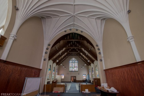 Abandoned Church, Freaktography, abandoned, abandoned ontario church, abandoned photography, abandoned places, church ceiling, creepy, decay, derelict, haunted, haunted places, ontario church, photography, urban exploration, urban exploration photography, urban explorer, urban exploring