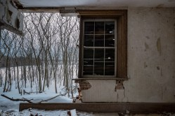 Freaktography, abandoned, abandoned photography, abandoned places, canada, creepy, decay, derelict, haunted, haunted places, ontario, photography, snow, trees, urban exploration, urban exploration phoatography, urban explorer, urban exploring, wall, window