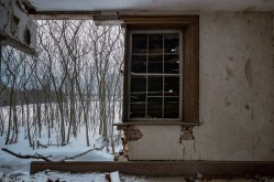 Freaktography, abandoned, abandoned photography, abandoned places, canada, creepy, decay, derelict, haunted, haunted places, ontario, photography, snow, trees, urban exploration, urban exploration phoatography, urban explorer, urban exploring, wall, window