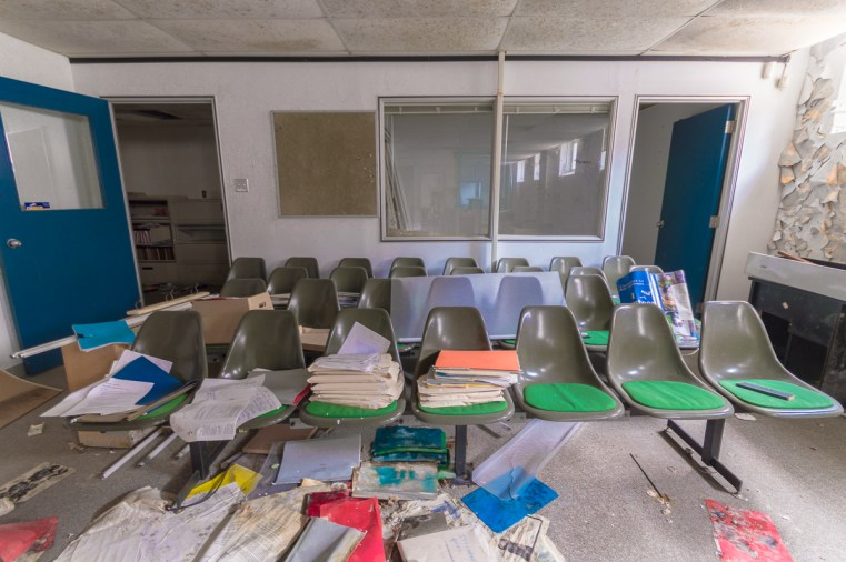 Freaktography, abandoned, abandoned photography, abandoned places, chairs, creepy, decay, derelict, haunted, haunted places, jekyll and hyde, photography, seats, take a number, urban exploration, urban exploration photography, urban explorer, urban exploring