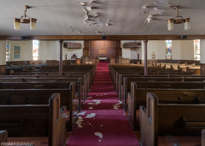 Abandoned Church, Freaktography, abandoned, abandoned churches, abandoned photography, abandoned places, church, churches, creepy, decay, derelict, haunted, haunted places, photography, urban exploration, urban exploration photography, urban explorer, urban exploring