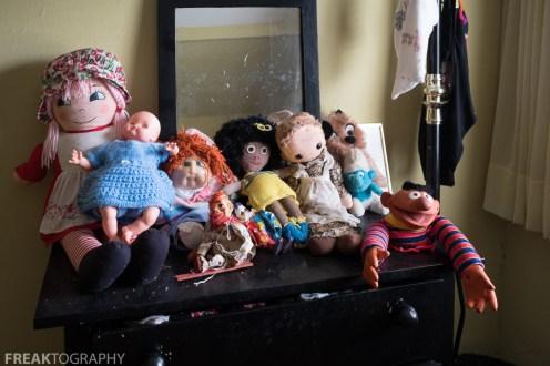 Creepy Dolls Abandoned Time Capsule House Urban exploring