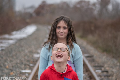 Ireland and Lucas Sibling Portraits 2018