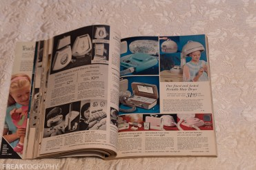 Vintage Simpsons Sears Catalogue Christmas 1966