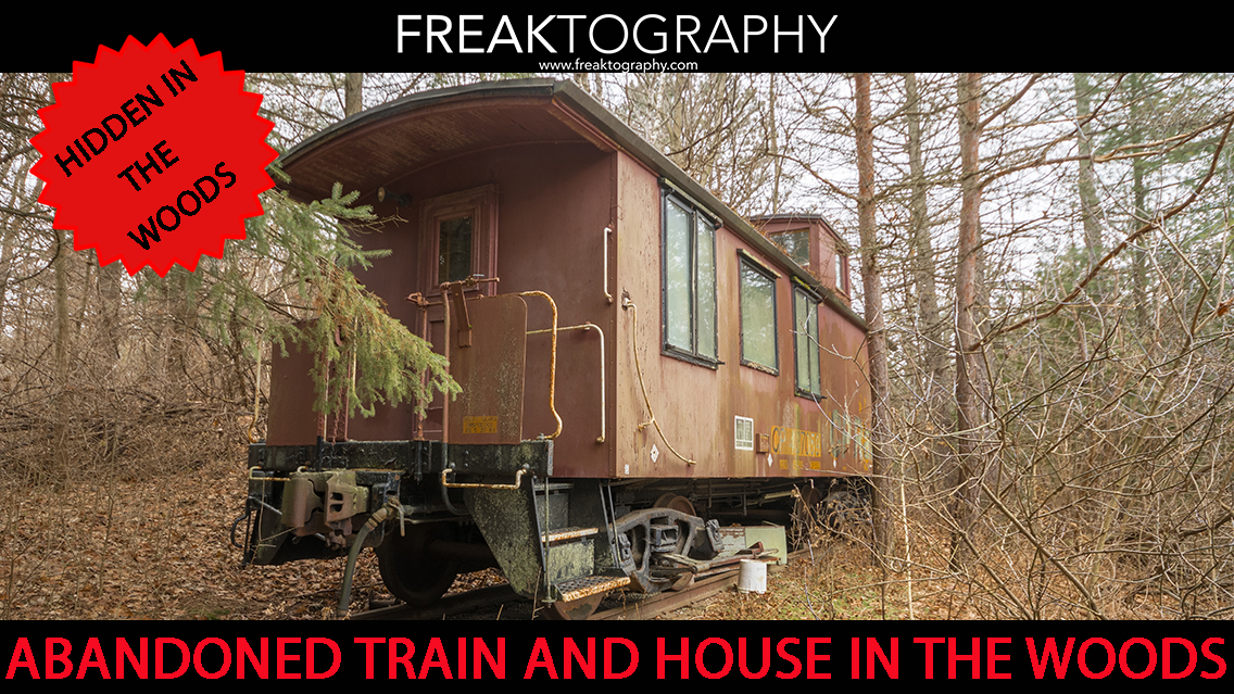 Abandoned Train Car Mansion in the Woods