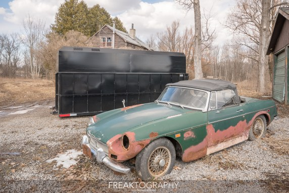 Exploring an Old Forgotten Mechanics Cabin Found Classic Antique MG Cars