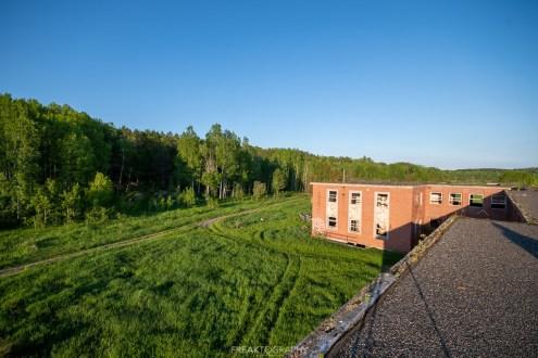 Abandoned Burwash Correctional Centre Camp Bison