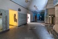 abandoned detroit cooley high school hallways