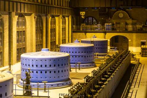 Canadian Niagara Power William B. Rankine Generating Station Power House and Thrust Deck