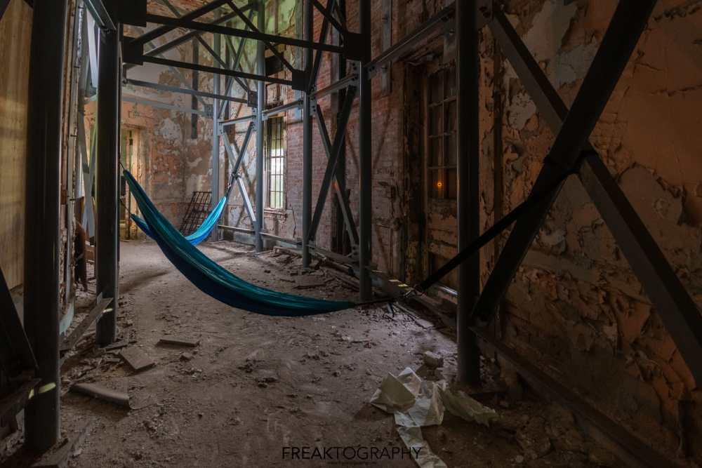 Abandoned Buffalo State Asylum Hammocks