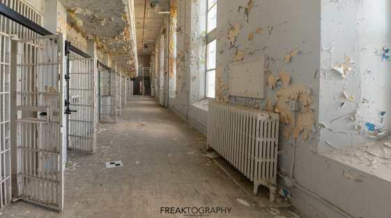 Abandoned Prison for Women Urban Exploring