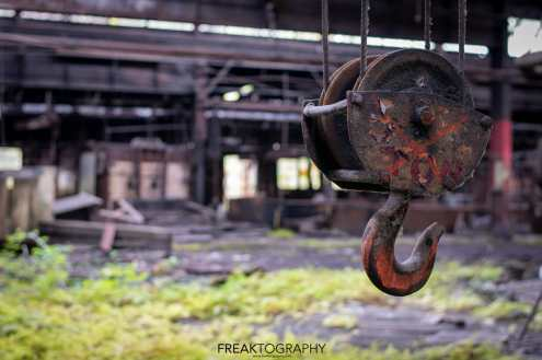 Abandoned New York State Steel Mill