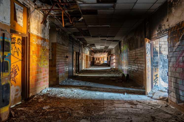horace mann abandoned high school natural light