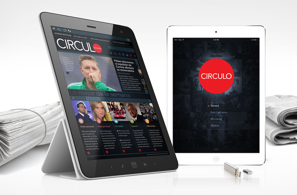 Circulo Sonora mobile application