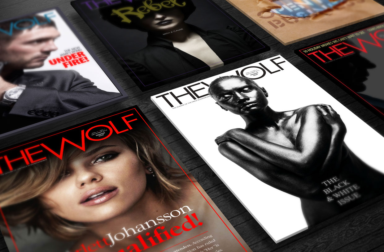 The Wolf Magazine Covers