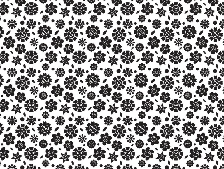 Pattern Design Flowers