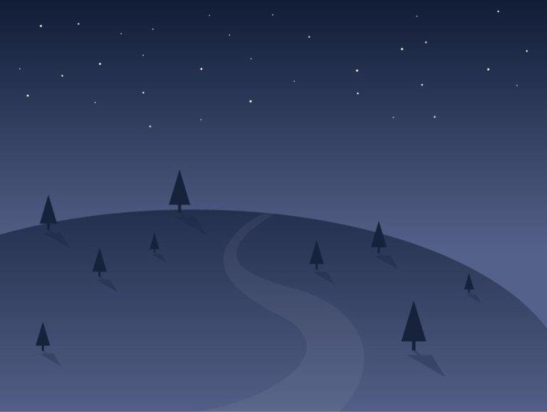 Night View Illustration