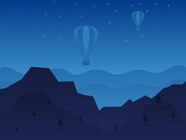 Free Night View Landscape