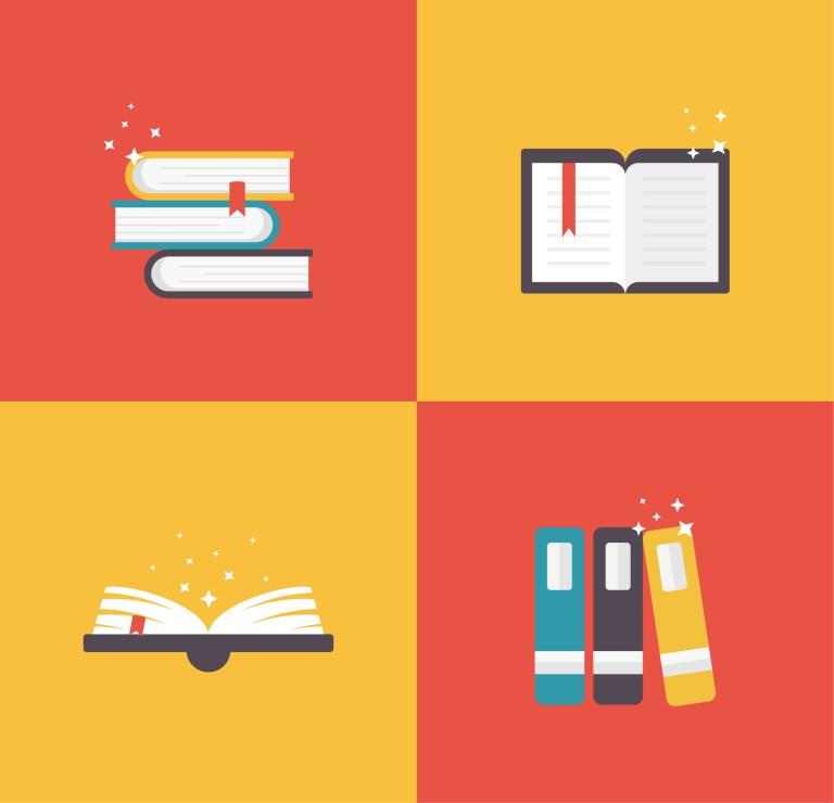 Books Vector Free Illustration
