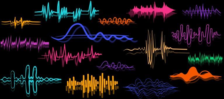 Doodle Sound Wave Vectors