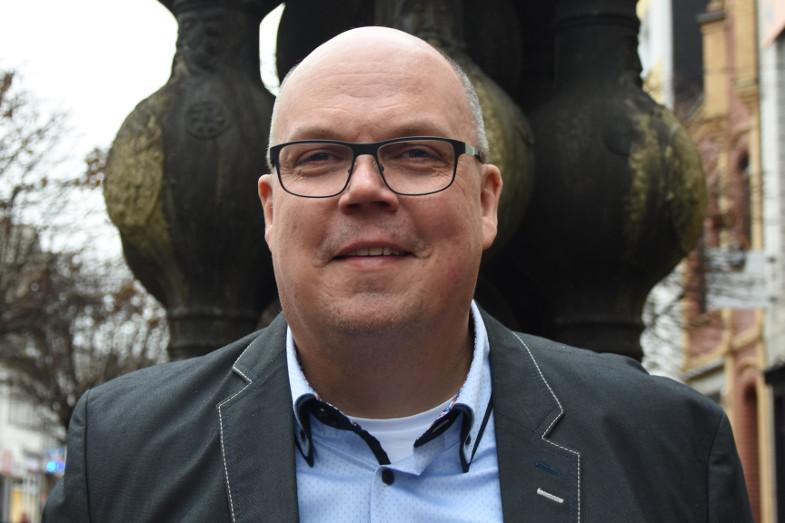 Kai Uwe Tietz, Stadtverordneter und Mitglied der SPD-Fraktion im Frechener Stadtrat