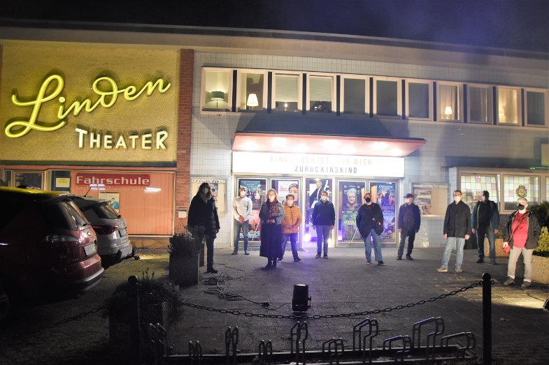 Kino leuchtet Linden-Theater in Frechen