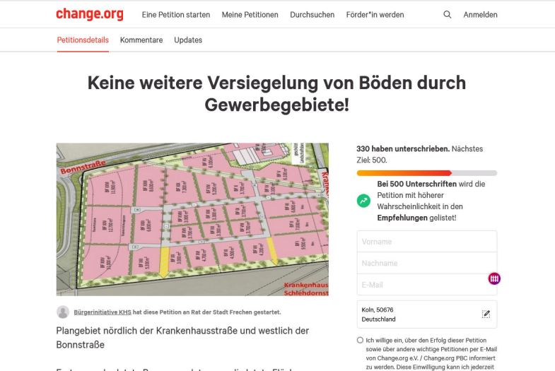 Stadt verbietet Infostand Aufmacher