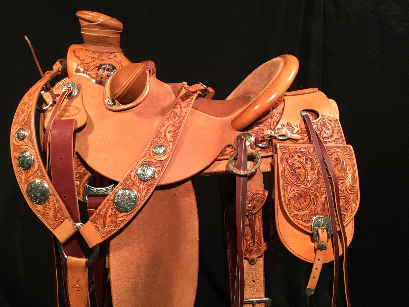 1 2 Tooled Saddles