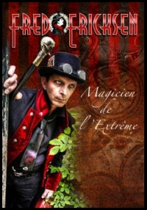 Fred Ericksen, magicien mentaliste