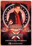 Circus Act, Lancer de couteau, Fred Ericksen, knife throwing, numéro de cirque