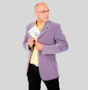 Pascal Chunlaud Metteur en scène magique