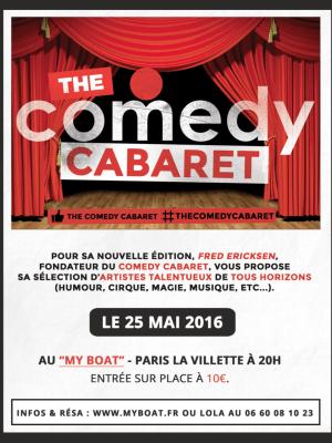 C'est la 1ere scène ouverte du Comedy Cabaret Humoristes, Jongleuses, Magiciens, Chanteurs, DJ, ... vont se produire sur la scène du Comedy Cabaret.