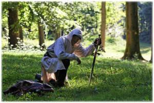 chasseur de dragons / dragonnier / animations médiévales