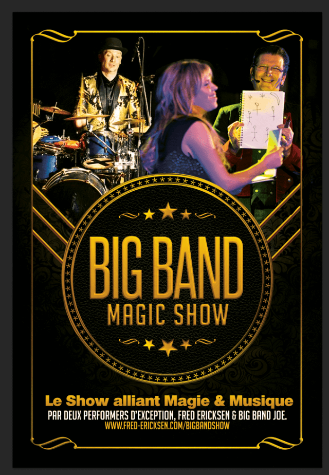 Big Band Show : Prestations Illusions & Musique Live