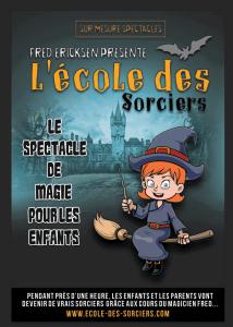 ecole des sorciers spectacle pour enfants