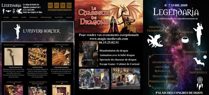 LEGENDARIA & Le chasseur de dragons