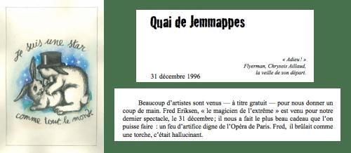Otto Wessely au Théatre Jemmapes 1996