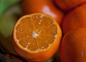 The Citrus sinensis (orange) belongs to the Rutaceae family. The oil is extensively utilized in aromatherapy as it helps soothe tensed muscles and aids as a mood lifter, as well as used as a fragrant lotion or cream when blended with carrier oil. Adding as flavoring to beverages, sweet meats, chocolates, biscuits, confectionery and baked goods are ways orange oil is used. You can also industrially use it as a concentrate for room fresheners and deodorants. It has an anti-inflammatory, antiseptic, antidepressant, antimicrobial and antioxidant properties that provide a lot of benefits to your health. Orange oil can be used as a tonic to help curb inflammation in the body by reducing pain and irritation. There is a carminative property that helps expel intestinal gas that induces chest pains and indigestion, by relaxing the stomach and anal muscles. Orange oil is also believed by organic nutritionists to help treat muscular and nervous spasms. It aids in relieving anxiety, anger and depression in aromatherapy and is beneficial in promoting a healthy wellbeing as it detoxifies your body and boosts your immunity. Improving digestion and relieving constipation are benefits of the orange oil. It is found to inhibit angiogenesis, metastasis and cell death in human colon cancer cells, according to a study. The oil from blood oranges may offer great potential for prevention of cancer. Try it for nourishing dry, irritated and acne-prone skin when mixed with carrier oil, and a treatment for calluses on your feet when used as a cream or ointment. Orange oil can be used as massage oil on various areas of the body. Add a few drops of the oil to a warm bath or body wash, but be careful to use it with carrier oil as it can irritate the skin. If you use it topically, be sure to stay out of the sun for at least 12 hours. It works great as a room freshener when you mix it with water in a spray bottle and squirt it lightly into the air. Use it in vapor therapy as it immensely helps in r