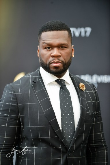 50 Cent Jackson Curtis actor, business man, singer Power attends a photocall during the 57th Monte Carlo TV Festival : Day 2 on June 18, 2017 in Monte-Carlo, Monaco