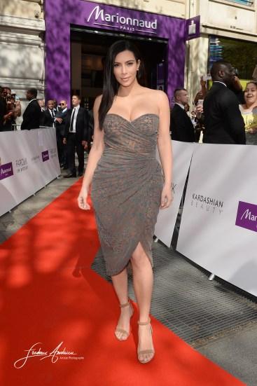 Kim Kardashian lance produit Marionnaud