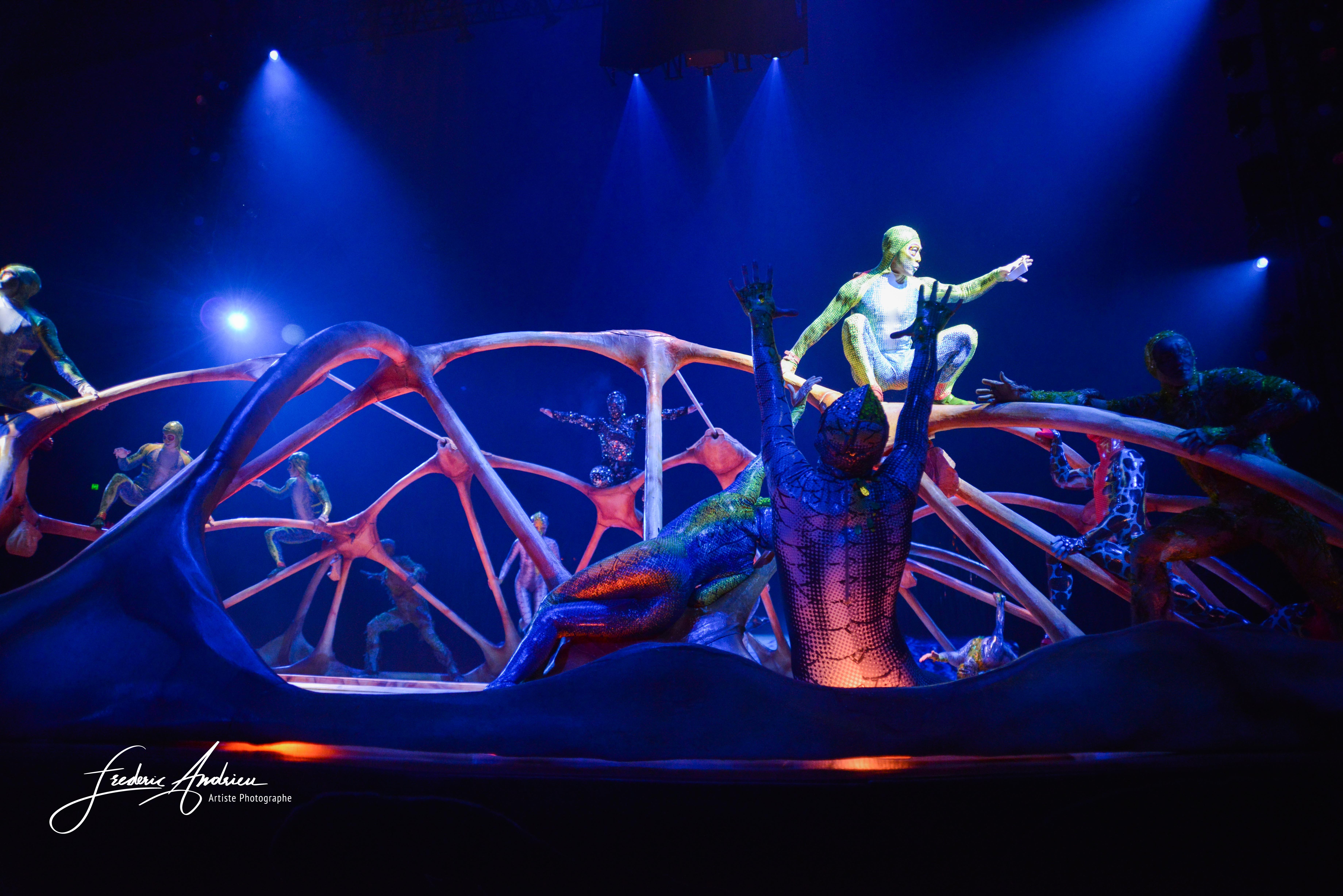 «Totem» le nouveau spectacle du Cirque du soleil