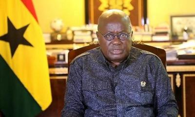 President Akufo-Addo goes into mandatory isolation