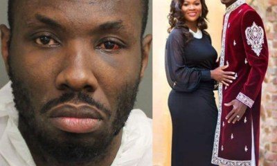 Shocking Video Of US Based Ghanaian Pastor Slyvester Ofori Threatening His Wife, Barbara Tommey Pops Up Days After He Shot Her Dead